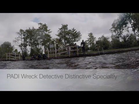 DD PADI Wreck Detective 2018
