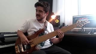 Noite Acesa - Caio Fernando (bass cover)