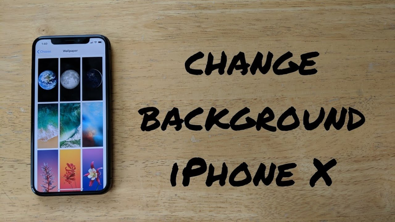 how to change twitter background on iphone