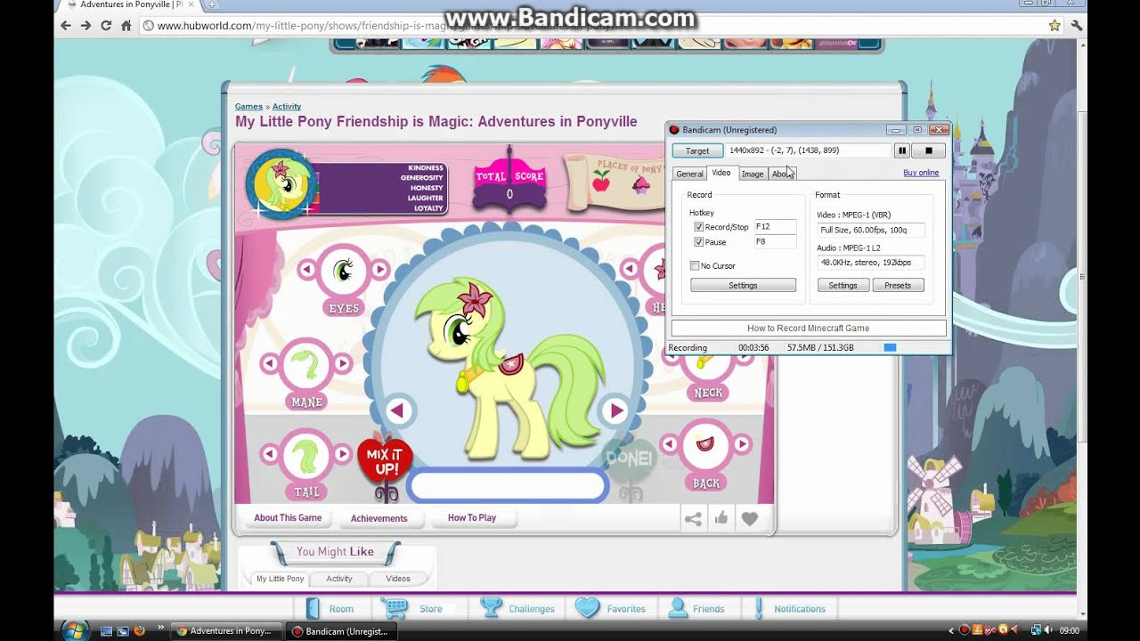 My Little Pony Friendship Is Magic Flash Game Adventures