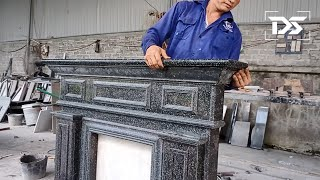 Dong Stone | Amażing ! How to build a feng shui stone fireplace