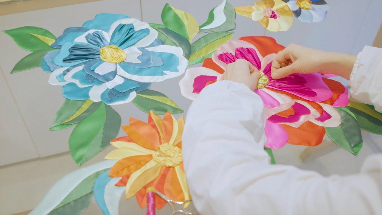Alta Moda embroidered cady kimono – The Making Of