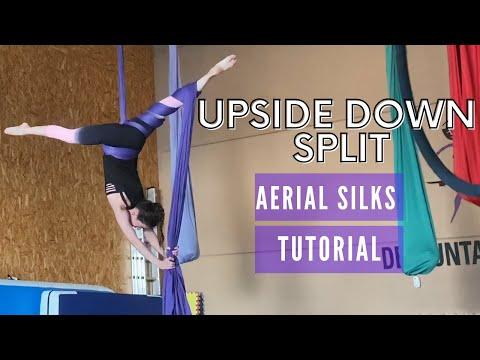 Upside Down Split Aerial Silks | Split Telas Aereas