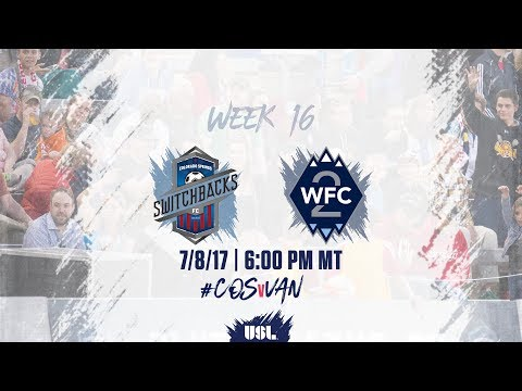 USL LIVE - Colorado Springs Switchbacks FC vs Vancouver Whitecaps FC 2 7/8/17