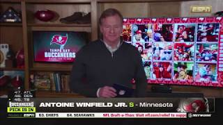 Antoine Winfield Jr. Drafted 45th Overall by Tampa Bay Bucs (ESPN) - 2020 NFL Draft