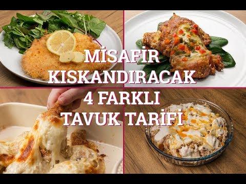 Misafir Kıskandıracak 4 Farklı Tavuk Tarifi (Seç Beğen!) | Yemek.com