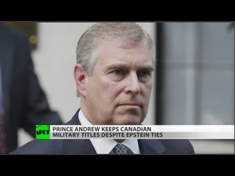 Why is Prince Andrew keeping Canadian post?