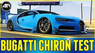 GTA 5 PC : BUGATTI CHIRON TEST DRIVE!!! (Top Speed Run, Modifications & More)