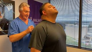 Check Out These New Super Pins For A Super Big Ring Dinger® On Big Man- Advanced Chiropractic Relief