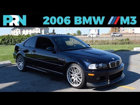 2006 BMW M3 Competition Tour & Review (E46)