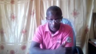 Guineematin avec le Cpt. Tangoulé Camara, Commissaire intérimaire de Kouroussa