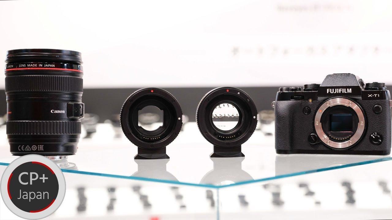 KIPON Autofocus Adapters - Canon EF to FUJIFILM Mirrorless Cameras