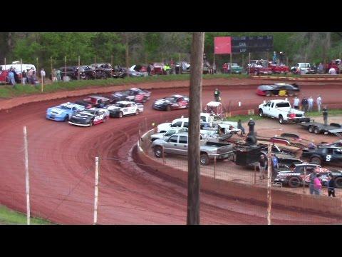 Winder Barrow Speedway Modified Street Feature Race 4/8/17
