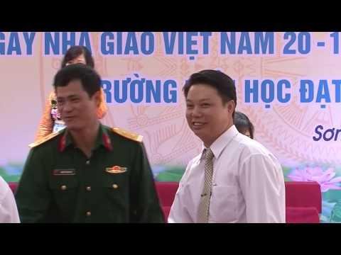 Trường tiểu học Sơn Đông-Lễ đón nhận trường chuẩn quốc gia