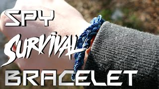 How to Make The Best Spy Survival Bracelet