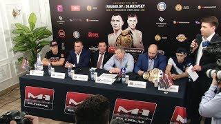 [Press-conference] Пресс-конференция перед M-1 Challenge 94, Оренбург, Россия