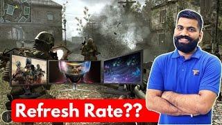 monitor refresh rate nvidia g sync amd freesync fps gaming