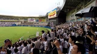 2017年9月24日千葉ロッテ-北海道日本ハム。9回裏ノーアウト1塁で、引退...
