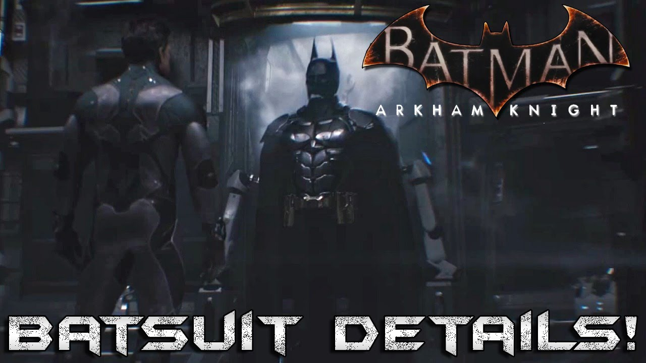 batman arkham knight batsuit details youtube