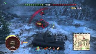 World of Tanks ps4 tiger 2 gameplay
