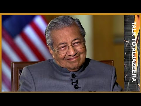 🇲🇾 Exclusive interview: Malaysia PM Mahathir Mohamad | Talk To Al Jazeera