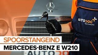 Hoe Kogelgewricht vervangen MERCEDES-BENZ E-CLASS (W210) - gratis instructievideo