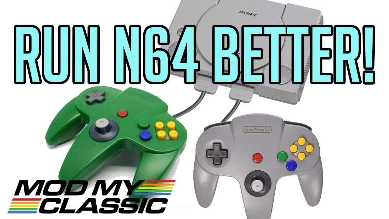 HOW TO | New N64 Emulator for your Playstation Classic BleemSync Hack!