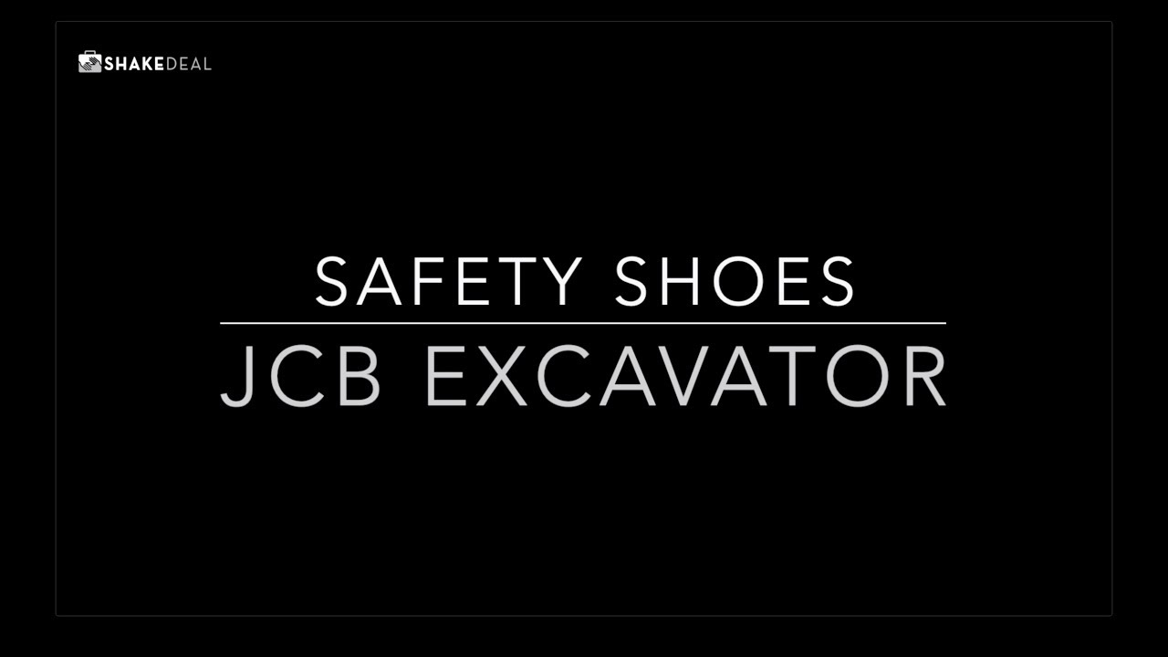 JCB EXCAVATOR - Ankle Boot Safety Shoe