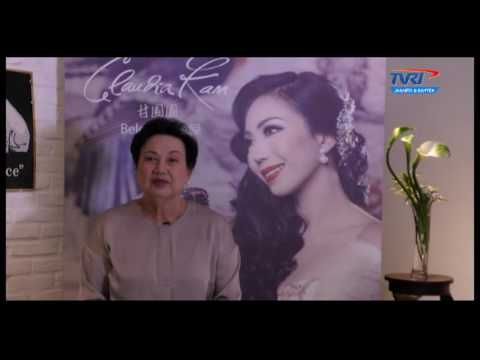 BELOVED ALBUM LAUNCHING - CLAUDIA KAM - WANITA INDONESIA TVRI JAKARTA - ( PART 1 )
