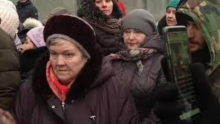 Протестующие омичи не согласны с отменой компенсации за семейное образование!