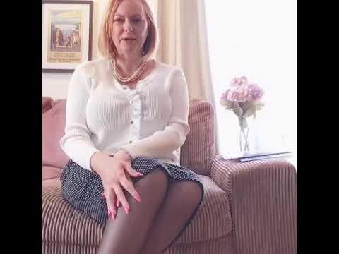 youtube mature women in nylons