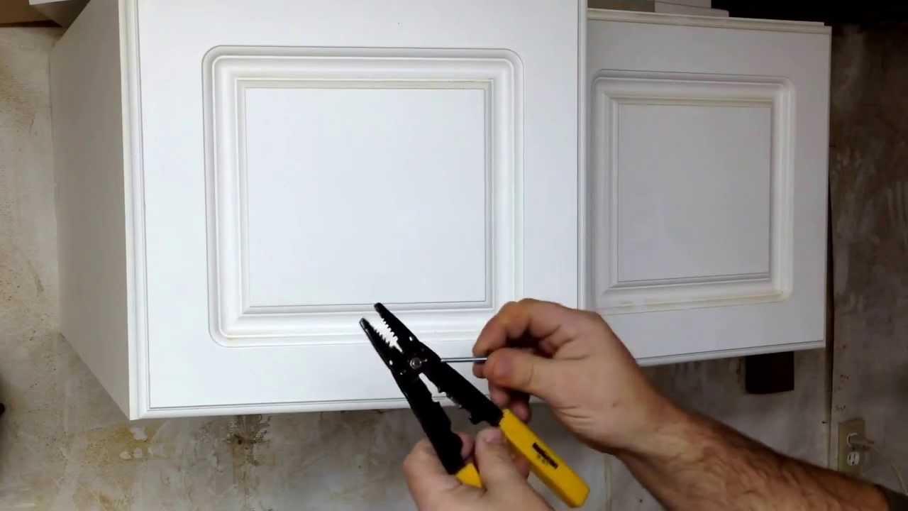 Jig For Drilling Cabinet Door Hardware