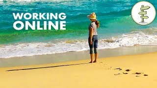 How We Work Online Full-Time While Traveling + 7 Helpful Tips For Digital Nomads