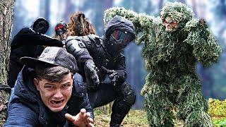 Мы сразились с болотным монстром и жабапсом, чтобы спасти Виа после битвы монстров