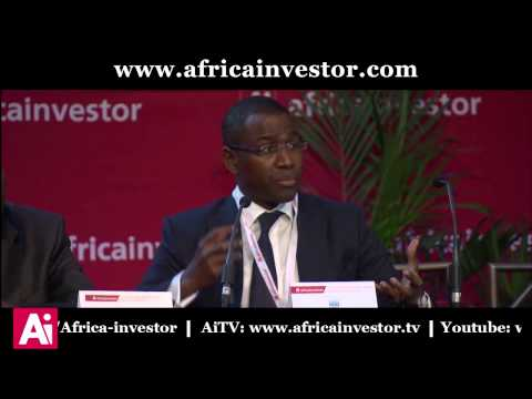 Amadou Hott, CEO, SWF of Senegal, at the Ai CEO Institutional Investment Summit 2014