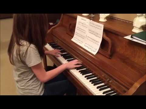 "Ava playing ""Victor's Piano Solo Corpse Bride"""