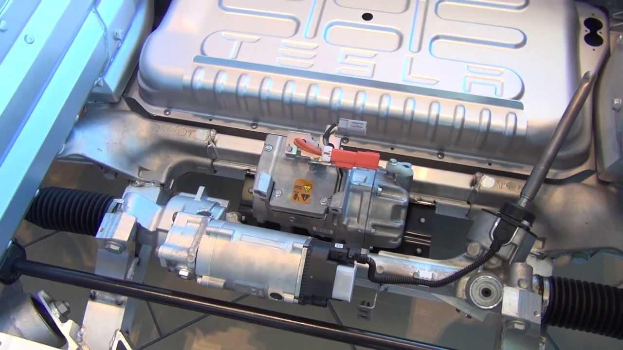Model X Prototype In 4x4 Battery Electric Vehicle Drivetrain Walkaround