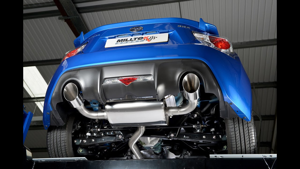 GT86 BRZ FR S Aftermarket Exhausts Ep 1 YouTube