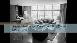 Armani Residence, Downtown Burj Dubai   PHD1020585