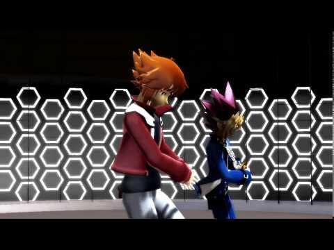 [MMD]~Jaden and Yugi~ Glide