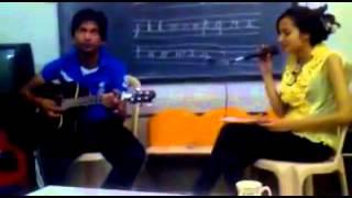 O Ri Chiraiya, Nanhi si chidiya sing by akansha sharma