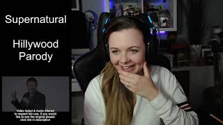 The Hillywood Show - Supernatural Reaction! | DakaraJayne