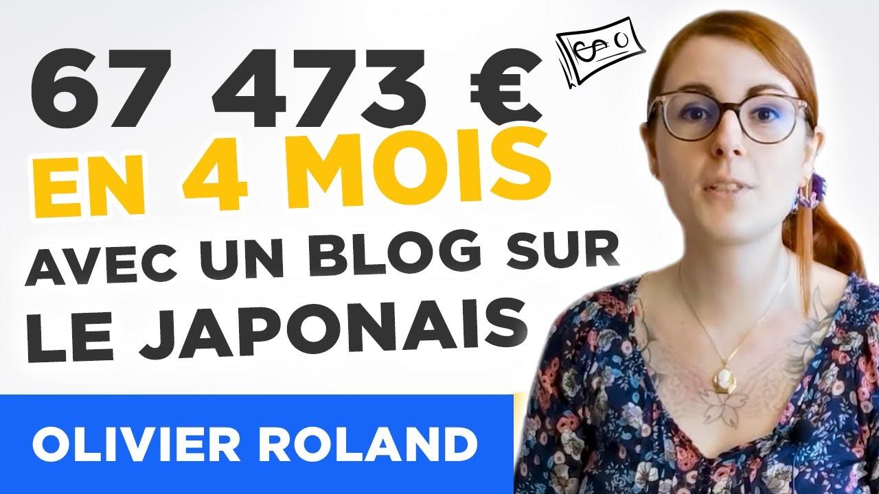 🗾💰 67 473 € en 4 mois en enseignant le japonais sur son blog : Comment Sophie a fait