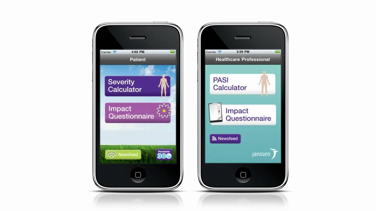 Psoriasis: app para controlarla