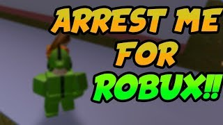 🔴 First To Arrest Me In Jailbreak Wins Robux! | Intense Live Challenge | ROBLOX LIVE