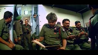 Vijayendra Varma Movie    Mukesh Rishi Escape From Jail  Action Scene    Balakrishna, Laya, Ankitha