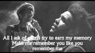 Wiz Khalifa - Remember You Lyrics Ft. The Weeknd