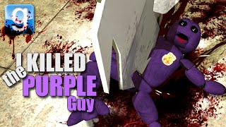 Gmod I KILLED THE PURPLE GUY! (Garry