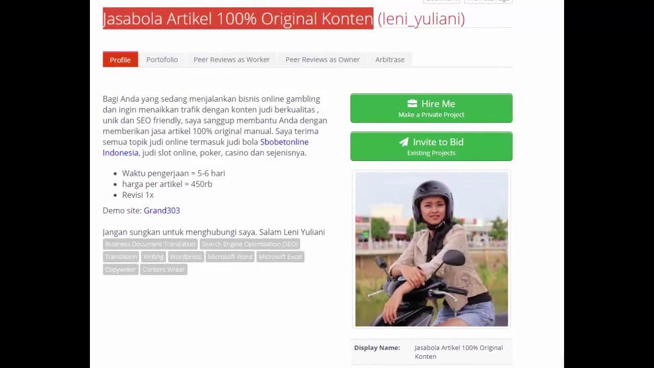 Jasabola Artikel 100 Original Konten Jasa Artikel Seo Murah Projects Co Id Youtube