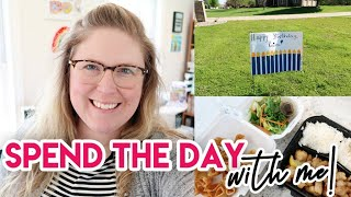 SPEND THE DAY WITH ME 💻 WORK FROM HOME! 😀 WORKING MOM DAY IN THE LIFE 🎈 QUARANTINE BIRTHDAY!
